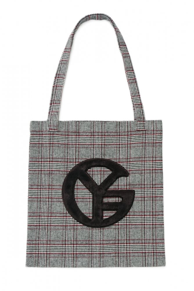 THE GYF SYMBOL CHECK TOTE BAG<img class='new_mark_img2' src='https://img.shop-pro.jp/img/new/icons21.gif' style='border:none;display:inline;margin:0px;padding:0px;width:auto;' />