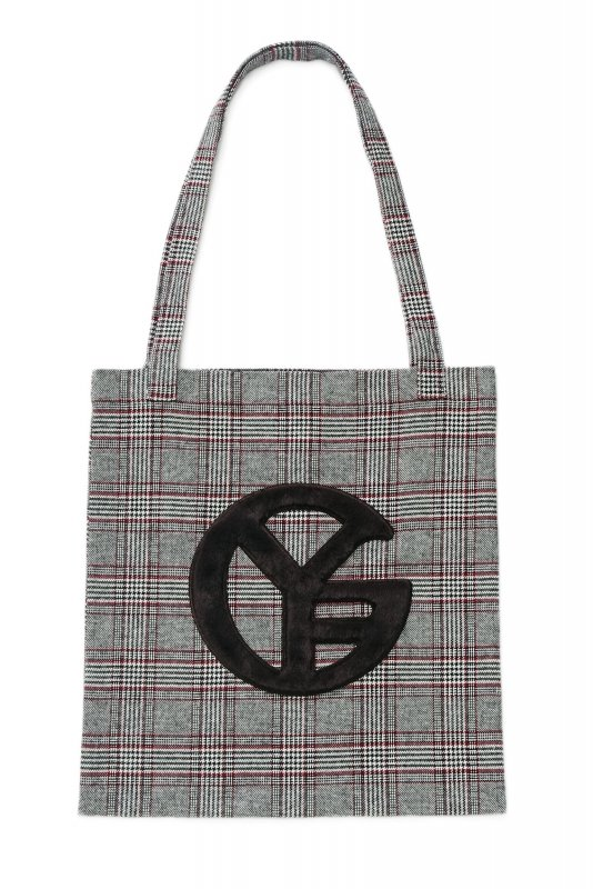GYF TOKYO - THE GYF SYMBOL CHECK TOTE BAG<img class='new_mark_img2' src='https://img.shop-pro.jp/img/new/icons21.gif' style='border:none;display:inline;margin:0px;padding:0px;width:auto;' />