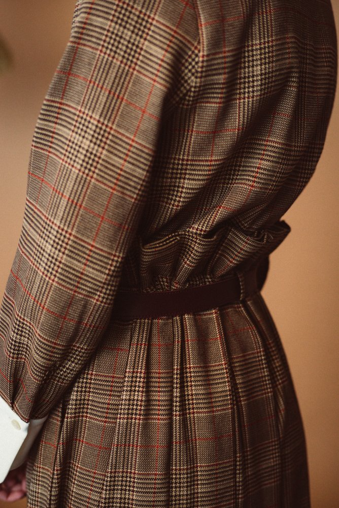 THE CHECK PLEATED LONG SKIRT<img class='new_mark_img2' src='https://img.shop-pro.jp/img/new/icons21.gif' style='border:none;display:inline;margin:0px;padding:0px;width:auto;' />