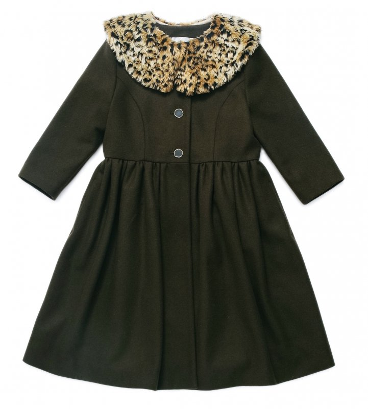 GYF TOKYO - THE LEOPARD TIPPET COAT<img class='new_mark_img2' src='https://img.shop-pro.jp/img/new/icons21.gif' style='border:none;display:inline;margin:0px;padding:0px;width:auto;' />
