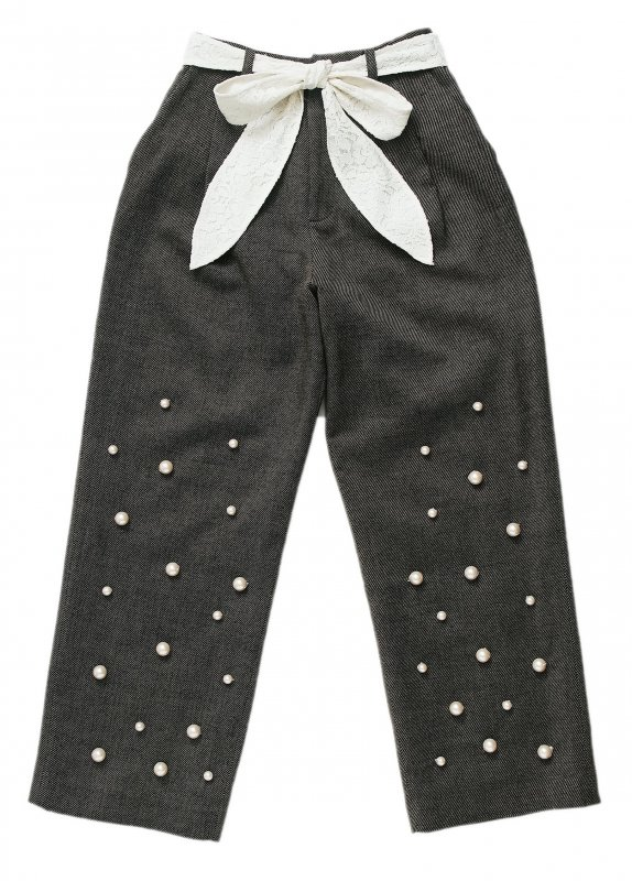GYF TOKYO - THE PEARL DECORATION PANTS<img class='new_mark_img2' src='https://img.shop-pro.jp/img/new/icons21.gif' style='border:none;display:inline;margin:0px;padding:0px;width:auto;' />