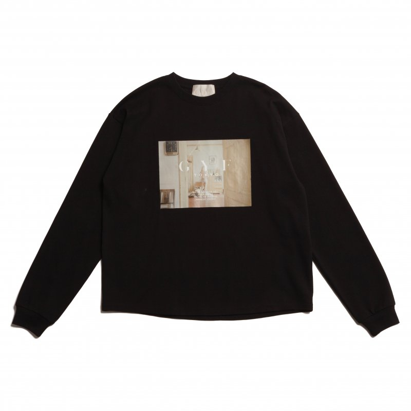 GYF TOKYO - THE CONCEPT PHOTO PRINT LONG T-SHIRT (BLACK)<img class='new_mark_img2' src='https://img.shop-pro.jp/img/new/icons21.gif' style='border:none;display:inline;margin:0px;padding:0px;width:auto;' />