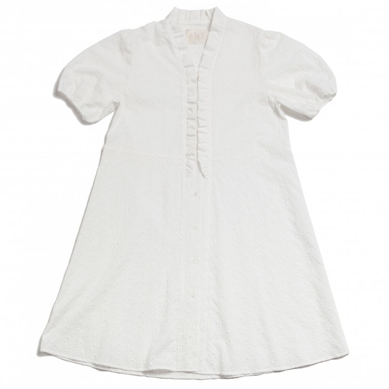 GYF TOKYO - THE COTTON LACE DRESS(WHITE)<img class='new_mark_img2' src='https://img.shop-pro.jp/img/new/icons21.gif' style='border:none;display:inline;margin:0px;padding:0px;width:auto;' />