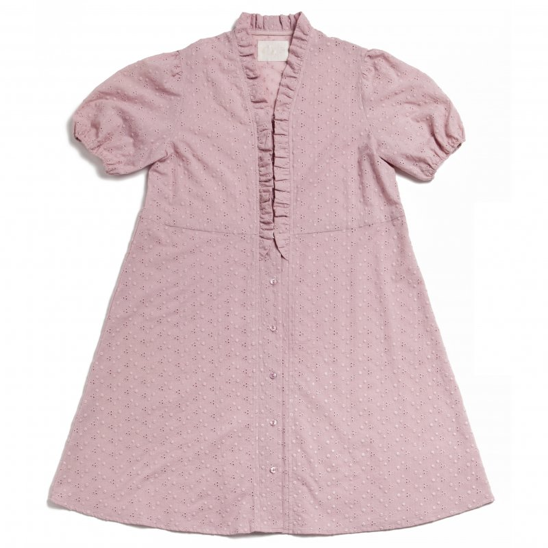 GYF TOKYO - THE COTTON LACE DRESS(LAVENDER)<img class='new_mark_img2' src='https://img.shop-pro.jp/img/new/icons21.gif' style='border:none;display:inline;margin:0px;padding:0px;width:auto;' />