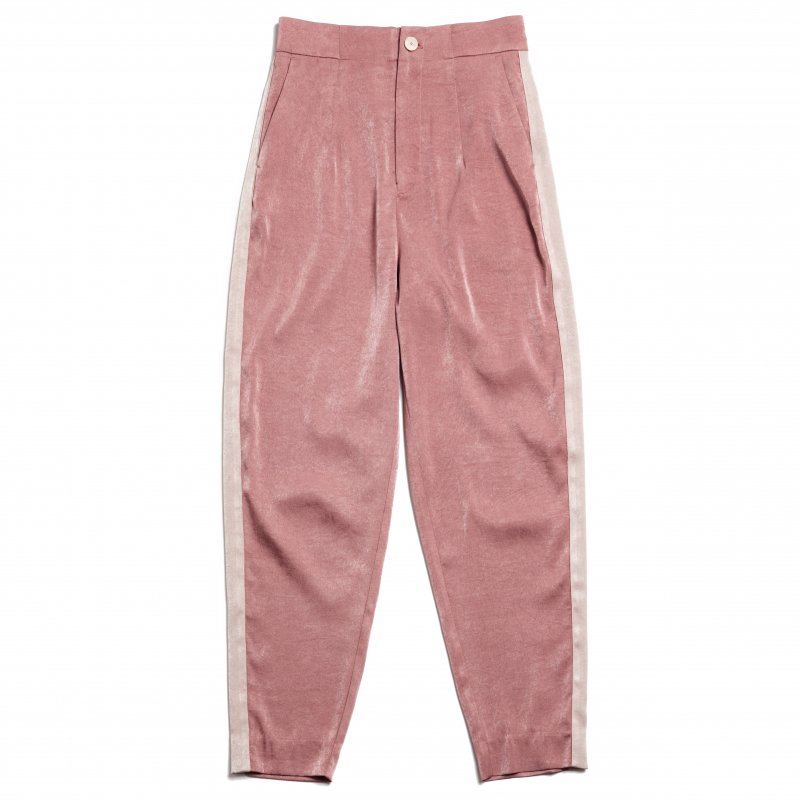 GYF TOKYO - THE ALL SATIN SIDE LINE PANTS<img class='new_mark_img2' src='https://img.shop-pro.jp/img/new/icons21.gif' style='border:none;display:inline;margin:0px;padding:0px;width:auto;' />