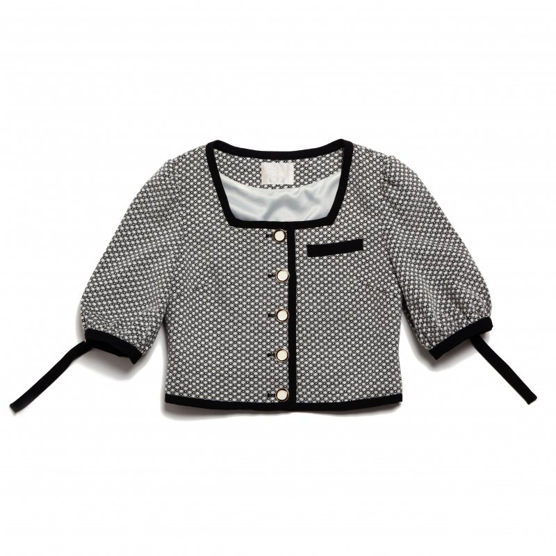 GYF TOKYO - THE MONOTONE PATTERN JACKET TOPS<img class='new_mark_img2' src='https://img.shop-pro.jp/img/new/icons21.gif' style='border:none;display:inline;margin:0px;padding:0px;width:auto;' />