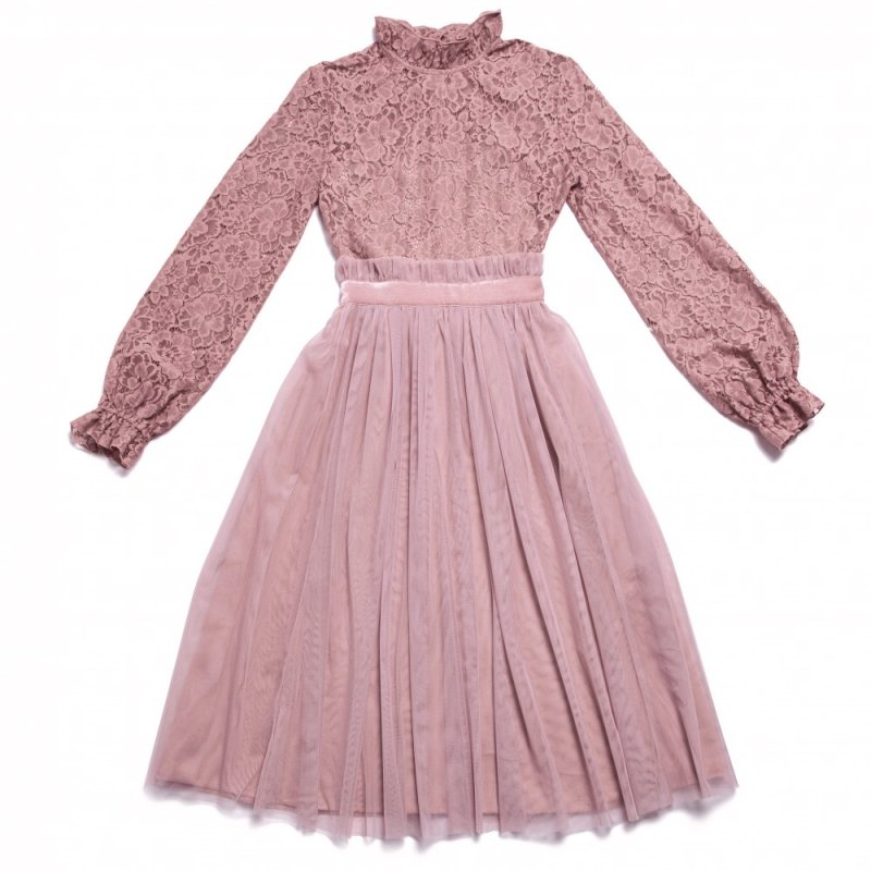 GYF TOKYO - THE BACK PEARL LACE DRESS (PINK) <img class='new_mark_img2' src='https://img.shop-pro.jp/img/new/icons21.gif' style='border:none;display:inline;margin:0px;padding:0px;width:auto;' />