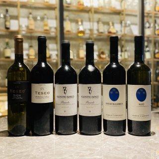 【セットでお得20%OFF!】厳選イタリアワイン白赤6本セット