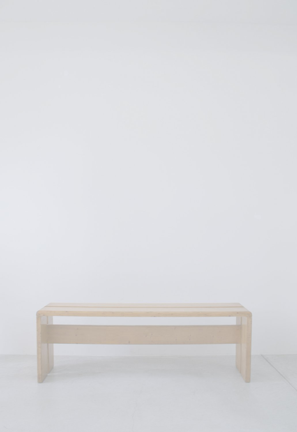 Charlotte Perriand Pine Stool for Les Arcs