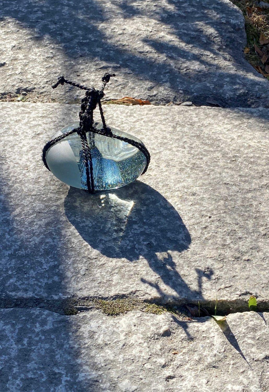 SEKIMORIGARASU -blue gray