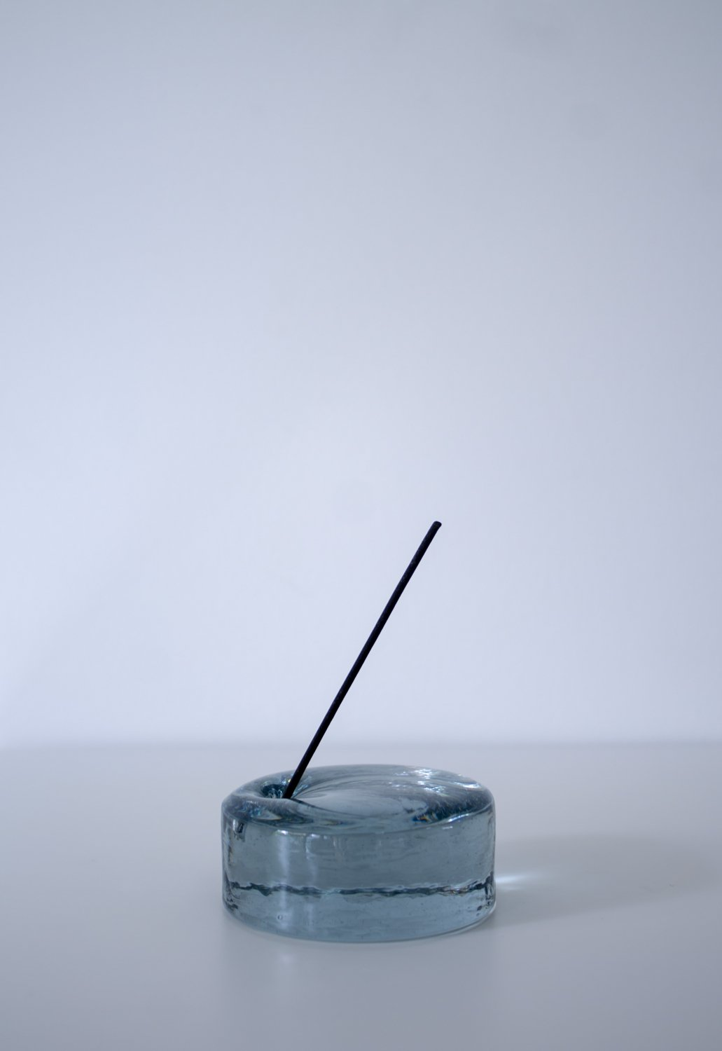 INCENSE STAND 75φ -blue gray