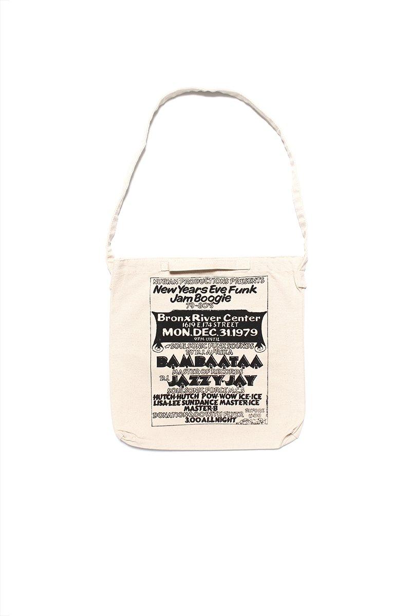 【RECOGNIZE×AFRIKA BAMBAATAA×GRAND GALLERY】 AFRIKA BAMBAATAA BUDDY ESQUIRE BAG