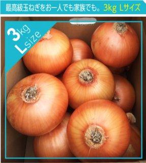 追熟甘玉ねぎ L 3kg | 送料無料 | 淡路玉葱