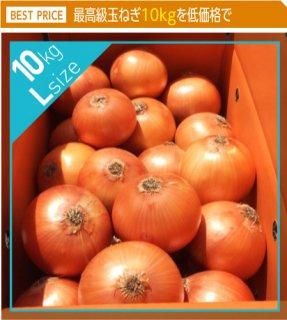 追熟甘玉ねぎ L 10kg | 送料無料 | 淡路玉葱