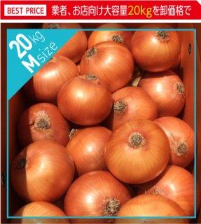 追熟甘玉ねぎ M 20kg | 送料無料 | 淡路玉葱