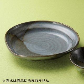 山がすみなぶり7.0皿 和食器 天皿 業務用 約23cm 和食 和風 天ぷら うどん屋 蕎麦屋