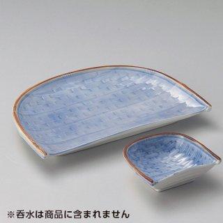 笹天皿 和食器 天皿 業務用 約25.5cm 和食 和風 天ぷら うどん屋 蕎麦屋