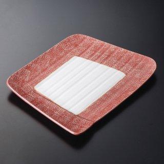 金彩のし型大皿 和食器 変型大皿 業務用 約30.5cm 和食 和風 宴会 揚げ物 串物 大皿 和皿 寿司屋 刺身盛り合わせ