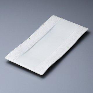 一珍ラスター長大皿 和食器 長角大皿 業務用 約31.5cm 和食 和風 ほっけ 宴会 盛り付け皿 寿司盛り合わせ