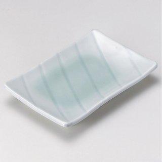 青白磁さざ波焼物皿 和食器 焼物皿 業務用 約22cm 和食 和風 焼魚 串物 揚げ物 創作料理 焼肉店 おにぎり 焼き鳥 天ぷら