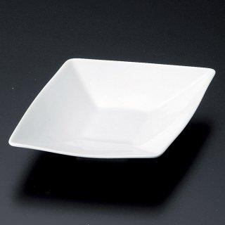 青磁菱型フルーツ皿 和食器 変形皿 業務用 約19.1cm 和食 和風 前菜 焼き物 揚げ物 刺身 お造り
