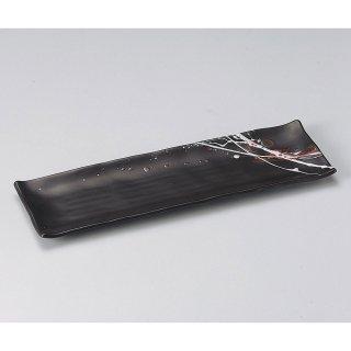 潮さんま 大 和食器 サンマ皿 業務用 約34.5cm 和食 和風 秋刀魚 前菜 寿司店 創作料理 焼肉店 焼魚 カルパッチョ 寿司盛り合わせ 串盛り合わせ 長皿