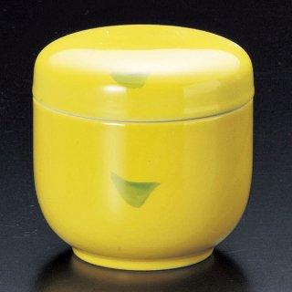 黄釉グリーン点夏目むし碗 和食器 むし碗 業務用 約180cc 和食 和風 茶碗蒸し おすすめ 秋メニュー 定番 業務用 飲食店