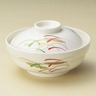 武蔵野京形蓋向 和食器 蓋向・円菓子碗 業務用 約14.3cm 和食 和風 蒸し物 煮魚