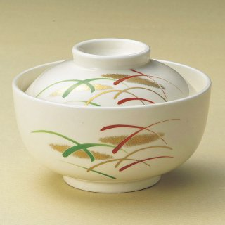 武蔵野円菓子碗 和食器 蓋向・円菓子碗 業務用 約12cm 和食 和風 蒸し物 煮魚