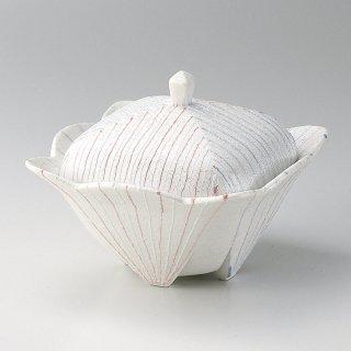 二色線ラスター煮物碗 和食器 蓋向・円菓子碗 業務用 約12cm 和食 和風 蒸し物 煮魚