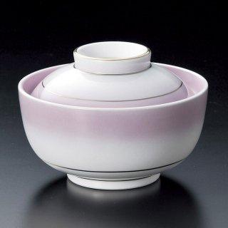 渕金紫吹円菓子碗 和食器 蓋向・円菓子碗 業務用 約11.8cm 和食 和風 蒸し物 煮魚