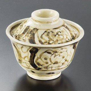絵瀬戸草花煮物碗 和食器 蓋向・円菓子碗 業務用 約12cm 和食 和風 蒸し物 煮魚