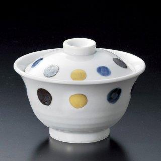 金彩丸紋煮物碗 和食器 蓋向・円菓子碗 業務用 約11.5cm 和食 和風 蒸し物 煮魚