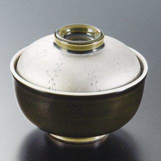 織部ラスター煮物碗 和食器 蓋向・円菓子碗 業務用 約11.3cm 和食 和風 蒸し物 煮魚