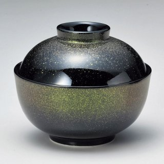 グリーン煮物碗 小 和食器 蓋向・円菓子碗 業務用 約11.5cm 和食 和風 蒸し物 煮魚