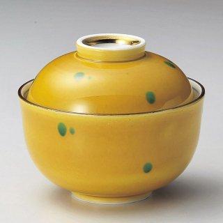 あめ色小煮物碗 和食器 蓋向・円菓子碗 業務用 約10.5cm 和食 和風 蒸し物 煮魚