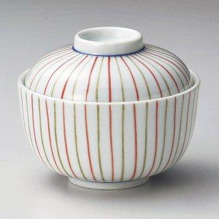 2色トクサ小煮物碗 和食器 蓋向・円菓子碗 業務用 約10.5cm 和食 和風 蒸し物 煮魚