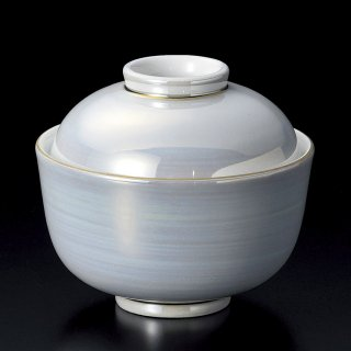 パールラスター小煮物碗 和食器 蓋向・円菓子碗 業務用 約10.5cm 和食 和風 蒸し物 煮魚