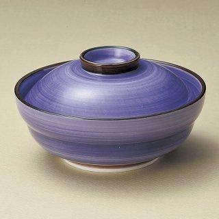 京紫京型蓋向 和食器 蓋向・円菓子碗 業務用 約14.4cm 和食 和風 蒸し物 煮魚