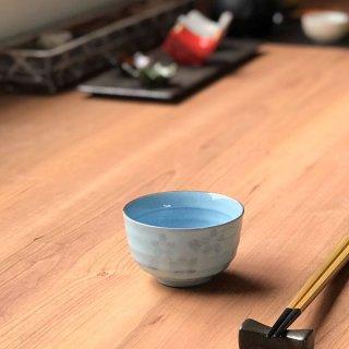 均窯花しずく反千茶 和食器 煎茶 業務用 約8.7×5.3cm 和食 和風 和菓子屋 和カフェ 食堂 定食屋 うどん屋 蕎麦屋