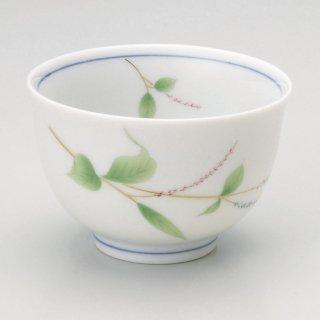 水ひき草2.8煎茶 和食器 煎茶 業務用 約8.5×5.6cm 和食 和風 和菓子屋 和カフェ 食堂 定食屋 うどん屋 蕎麦屋