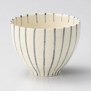 陶碗ゴス十草 和食器 一服碗・ゆったり碗・汲み出し 業務用 約9.2×7.2cm 和風 和菓子屋 和カフェ お茶 スープ