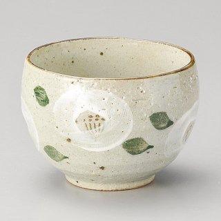 白椿いっぷく碗 和食器 一服碗・ゆったり碗・汲み出し 業務用 約10×7.2cm 和風 和菓子屋 和カフェ お茶 スープ
