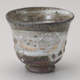 灰釉大汲出 手造り 和食器 一服碗・ゆったり碗・汲み出し 業務用 約10.5×8cm 和風 和菓子屋 和カフェ お茶 スープ