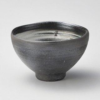 黒陶煎茶 和食器 一服碗・ゆったり碗・汲み出し 業務用 約9.5×6.3cm 和風 和菓子屋 和カフェ お茶 スープ デザート