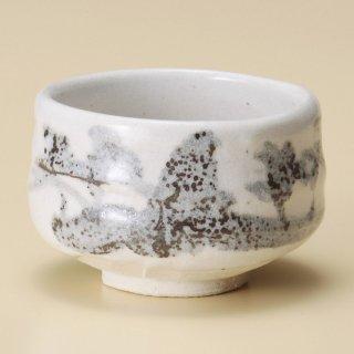 白山水抹茶碗 和食器 抹茶碗 業務用 約11×8cm ぜんざい 茶道教室 茶道 おしゃれ 和テイスト
