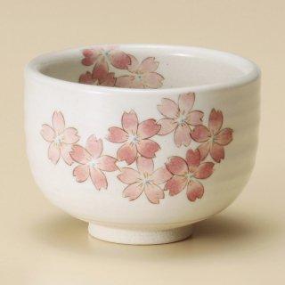 うたげ桜野点碗 和食器 抹茶碗 業務用 約10.7×7.5cm ぜんざい 茶道教室 茶道 おしゃれ 和テイスト