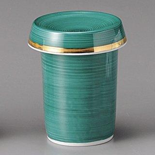 グリーン巻ひれ酒 和食器 ひれ酒 業務用 約6.2cm 和食 和風 フグ料理 鯛 日本料理 懐石料理 ヒレ酒