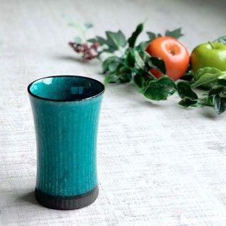 トルコ釉ビアカップ 和食器 フリーカップ 業務用 約8.2×13cm 和バル 喫茶店 アイスコーヒー 居酒屋 和風ダイニングバー