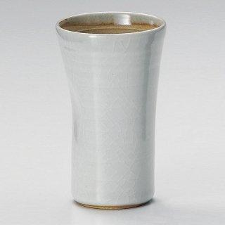 貫入唐津フリーカップ 和食器 フリーカップ 業務用 約7.2×12cm 和バル 喫茶店 アイスコーヒー 居酒屋